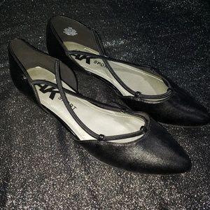 Anne Klein Sport Black Ballet Flats size 10
